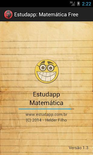 Estudapp: Matemática