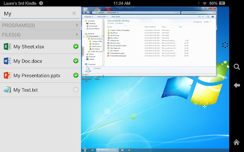 VMware Horizon Client- screenshot thumbnail