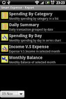 Screenshot of Smart Money/Expense