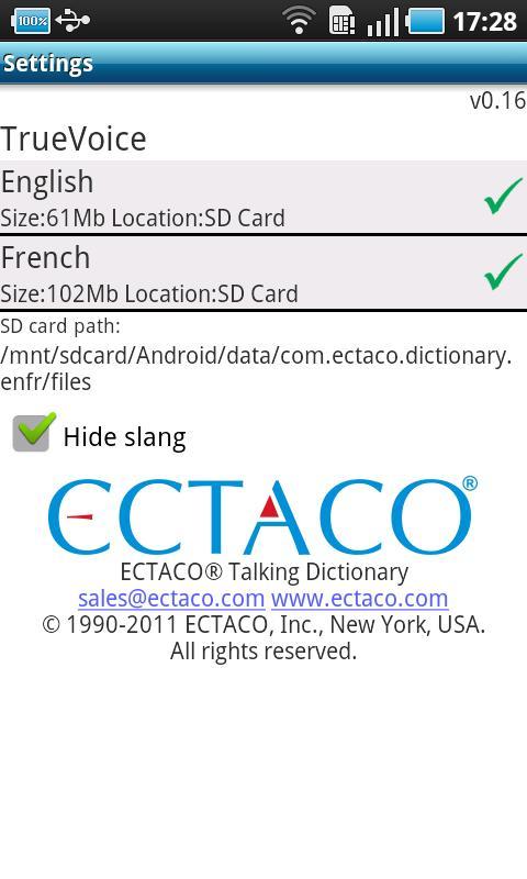 English - French Suite- screenshot