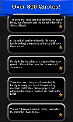 Family Quotes - screenshot
