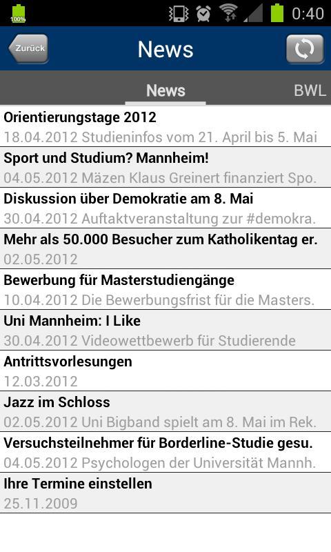 Universität Mannheim - Android Apps On Google Play