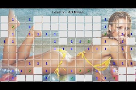Sexy Girls Minesweeper - FREE - screenshot thumbnail