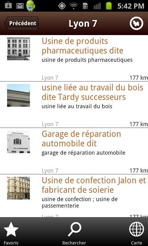 Patrimoine Industriel de Lyon- screenshot
