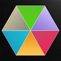 Hexagon Rush Free icon