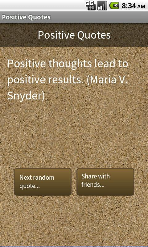 Positive Quotes- screenshot