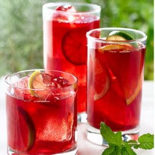 Sparkling Pomegranate Tea Punch.