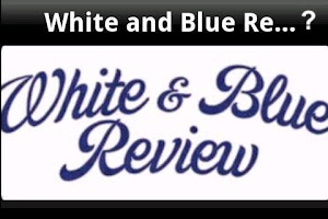 Screenshot of White & Blue Review