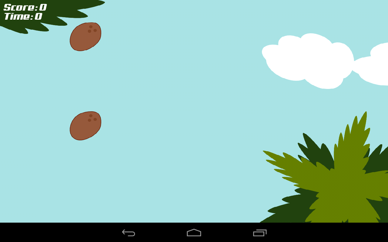 Coconut Hit- screenshot