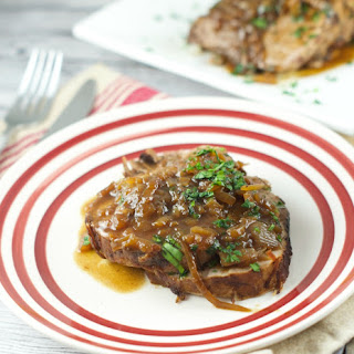 Slow Cooker Balsamic Beef Roast ( Asado Negro)