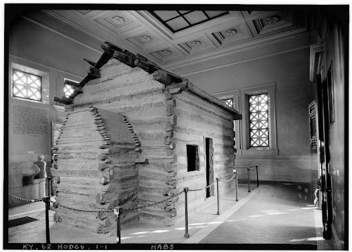 Abraham Lincoln Birthplace, Hodgenville, Larue County, KY (Courtesy of the Library of Congress Prints and Photographs Division)
