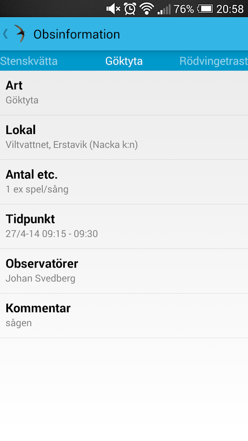 Seglaren (utvärderingsversion) - screenshot