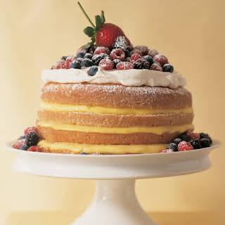 1–2-3–4 Lemon Cake.