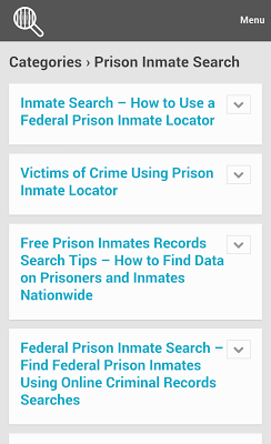 Inmate Search Tips on Google Play Reviews | Stats