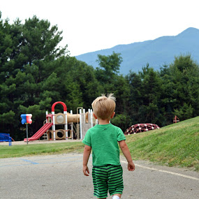 Going to the playground! by Carolyn Parks - Babies & Children Children Candids