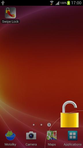 Lock screen easily Swipe Lock