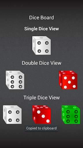 Free Dice Board HD