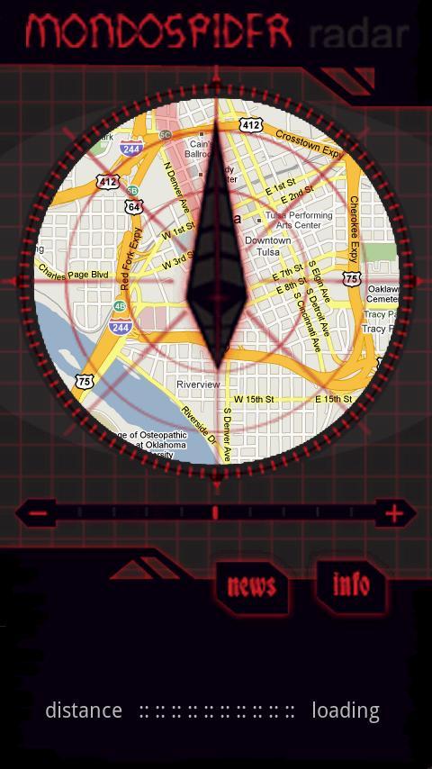 Mondo Spider Radar- screenshot