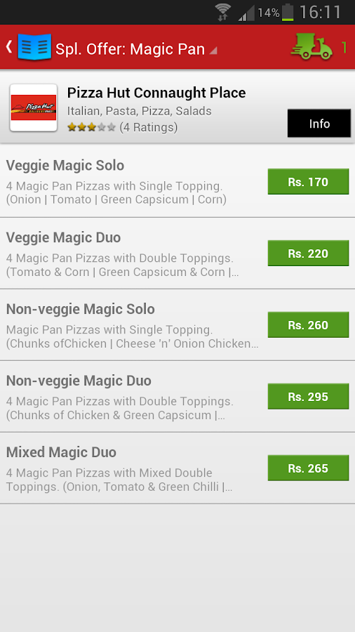 Foodpanda - Food Delivery - screenshot