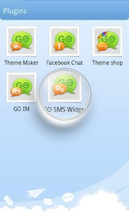GO SMS Pro Theme Maker plug-in- screenshot thumbnail