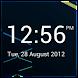 Minimalistic Digital Clock