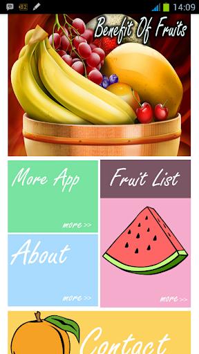 Benefit Of Fruit