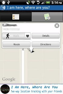 Buddy Locator On Google Maps - screenshot thumbnail