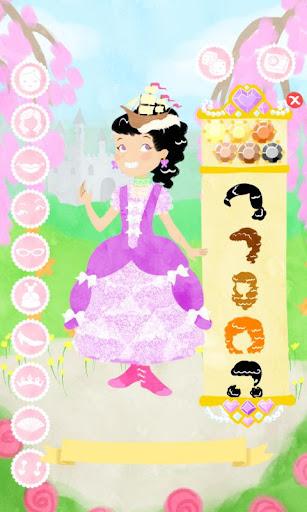 公主时装秀 打扮娃娃