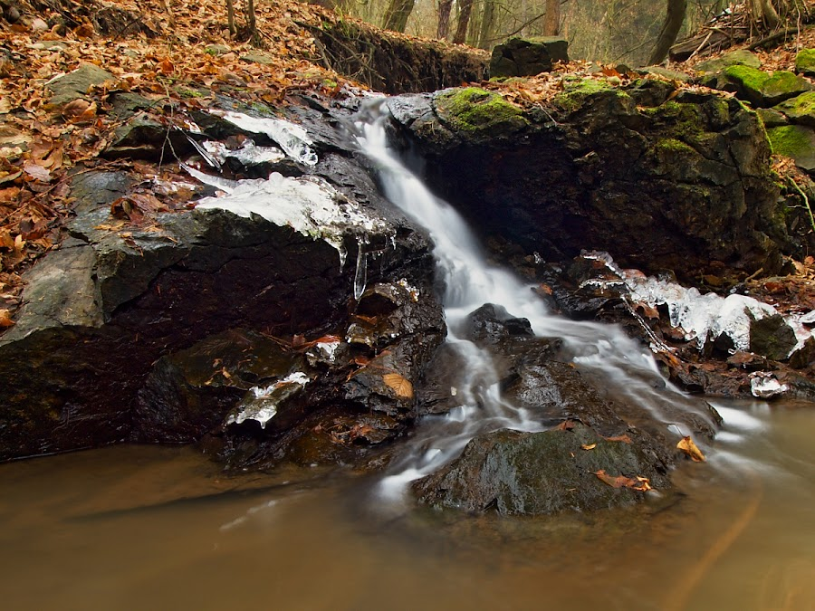 The Bukovec warefall by Robert Benčík - Landscapes Waterscapes