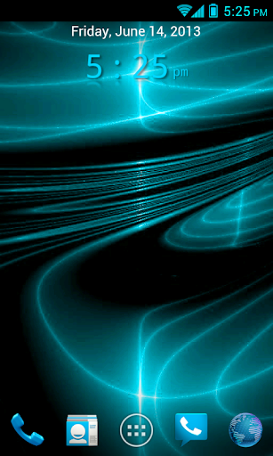 Blue Accent AOSP AOKP Theme
