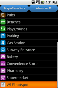 New York Amenities Map screenshot 3