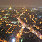 City Night of Paris Wallpaper