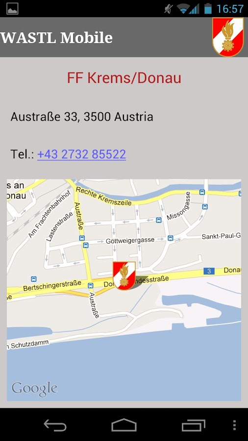 WASTL Mobile - screenshot