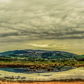 Solway Coast by Aiden Ogden - Landscapes Mountains & Hills ( water, clouds, hills, skyline, sky, lake, coastline, coast )