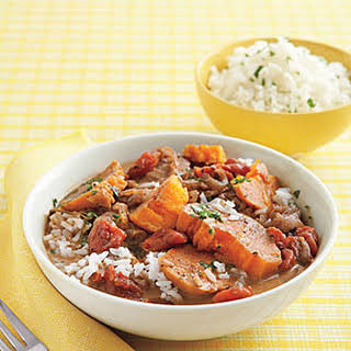 Slow-Cooker Peanut-Sweet Potato Stew.