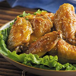 Honey Sesame Wings.