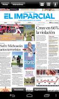 Screenshot of El Imparcial