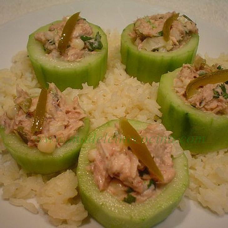 Tuna Boat Appetizers Recipe