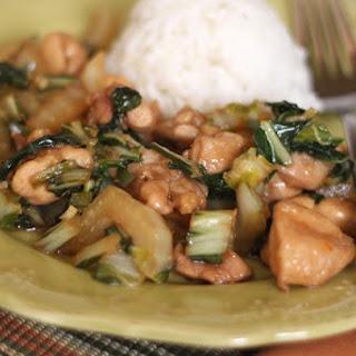 Chicken and Bok Choy Stir Fry