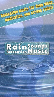 Rain Sounds Relaxation Music - screenshot