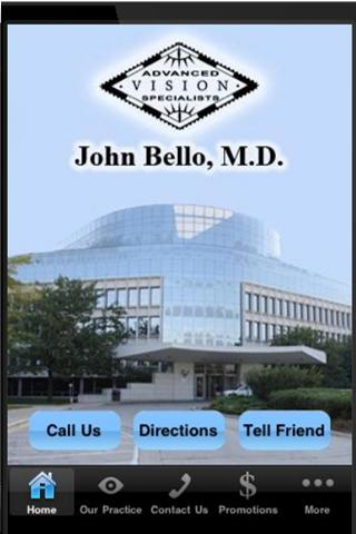 John Bello, M.D. - screenshot