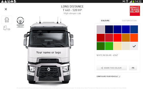 The Range by Renault Trucks – Vignette de la capture d'écran