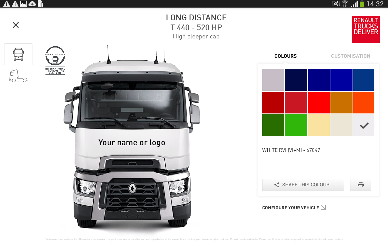 the range by renault trucks aplikacje na androida w google play. Black Bedroom Furniture Sets. Home Design Ideas