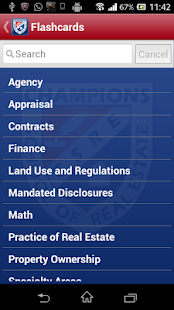 Texas Real Estate Flashcards- screenshot thumbnail