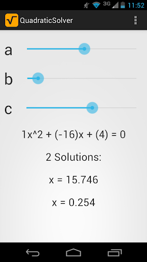 Quadratic Solver