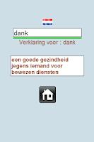 Screenshot of enigmWord Dutch