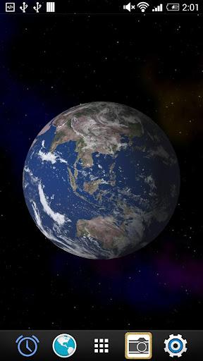 地球のライブ壁紙