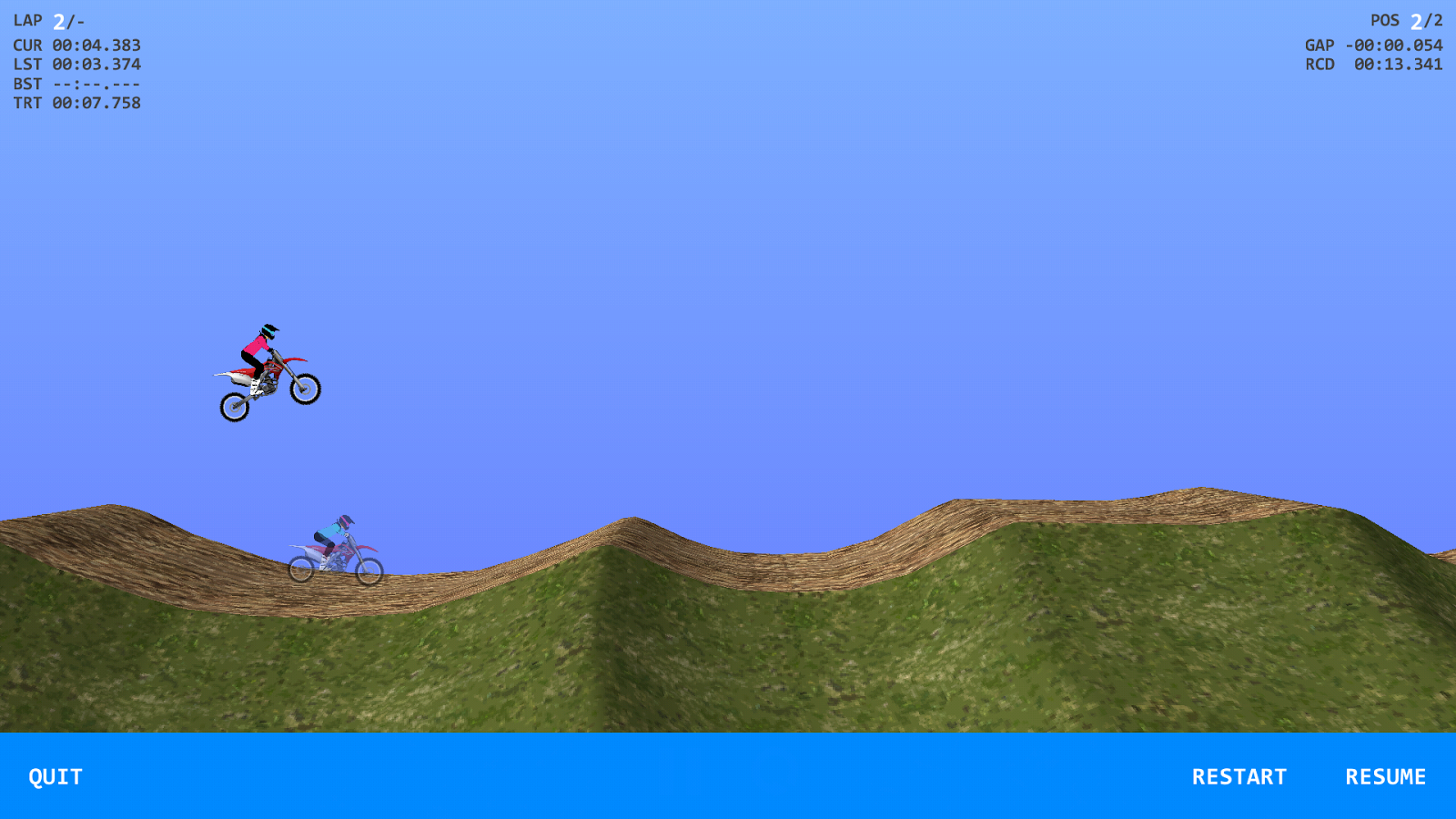 2DMX Motocross - screenshot