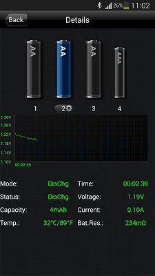 SkyRC Smart Charger - screenshot