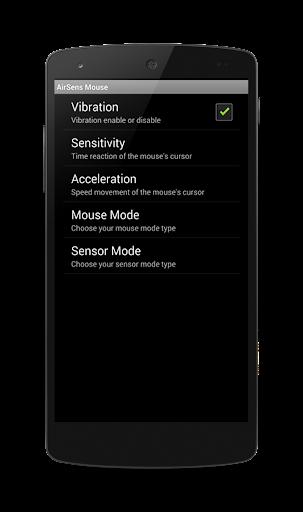 【免費生產應用App】Air Sens Mouse-APP點子